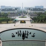Chinesisches Paris ist eine Geisterstadt