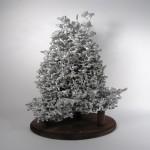 Aluminiumskulpturen aus Ameisenkolonien