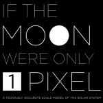 Wenn der Mond nur ein Pixel groß wäre