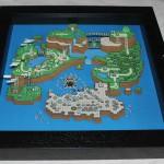 Papierdioramen von Computerspielen