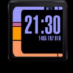 LCARS-Oberfläche für Android Smartwatch
