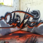 Anamorphische Graffiti