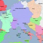 Geschichtliche Weltkarte von 3000 v. u. Z. bis heute