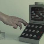 Lebensgroße, funktionierende Legostein-Computer