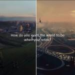Schwedischer Pensionsfond wirbt mit interaktiver Utopie-/Dystopie-Vision
