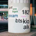 Graffiti Tags in Schönschrift umgewandelt