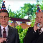 John Malkovich als Gaststar auf der Geburtstagsparty